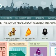 Special London Elects web-site for the independent team that organises the Mayor of London and the London Assembly elections.