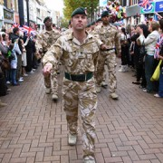 Armed Forces in Croydon. Pic: Croydon Council