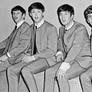 The Beatles backstage at Fairfield Halls, Croydon, in 1963. Photograph: Andy Wright/Getty Images/Fairfieldat50.ehive.com