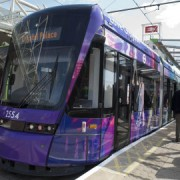 Croydon's new tram. pic: TFL