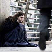 A homeless resident of Croydon.