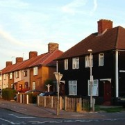 Housing in southeast London. Pic: EastLondonLines