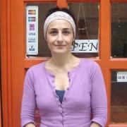 Time to relax: Massage therapist Xenia Bolomyti. Pic: Leila Zerai