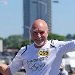 Patrick Stewart In Croydon. Pic LOCOG