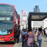 London bus. Pic: Colin Smith.