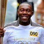 Pop Star Dizzee Carries Torch In Tower Hamlets. Pic Twitter @dizzeerascal