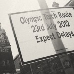 Delays In Croydon Because Of The Torch. Pic randallmurrow.com