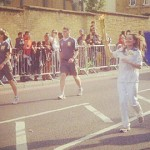The Torch Continues Through Hackney. Pic Twitter @shaannnnnnn