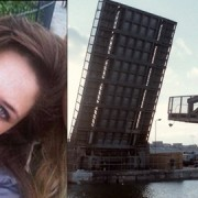 Antonia Daley and the Woolwich Docklands, where she may have last been seen. Pics: Metropolitan Police; Steve White