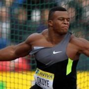 Lawrence Okoye Pic: teamgb.com