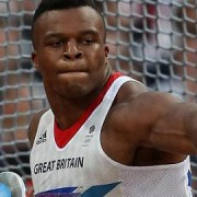 Lawrence Okoye in the discus final Pic: teamgb.com