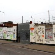 White Post Lane before The Walls Have Ears project. Pic: Courtesy of the Bread Collective