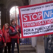 Hackney Coalition to Save NHS Pic: Sophie Robinson-Tillett