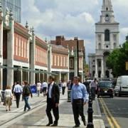 Spitalfields site. Pic:Stephen McKay