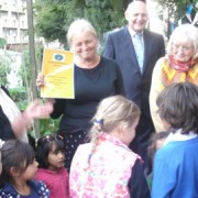 Award Ceremony. Pic: East London Garden Society