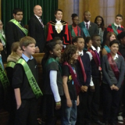 Pic: Hackney Youth Parliament election