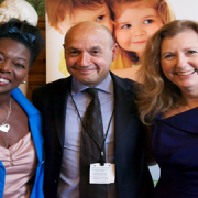 Baroness Benjamin, Neil Leitch and Mary Gordon Pic: House of Lords