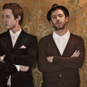 Will Kennard (left) and bandmate Saul Milton. Pic: Chase & Status