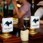 Trumans beer pumps. Pic: Trumans