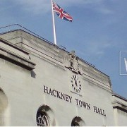 Hackney Town Hall. Pic: Martin Deutsch