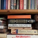 Library books. Pic: Casey Fleser