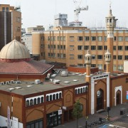 East London Mosque on Whitechapel Road. Pic: East London Mosque.