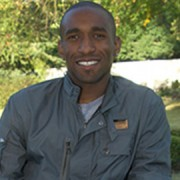 Jermain Defoe, England striker formerly from Senrab. Pic: jermaindefoe.com