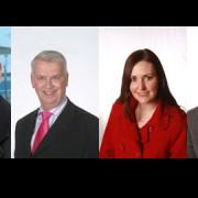 Mayor Sir Steve Bullock, Cllr. John Muldoon, Cllr. Vicky Foxcroft, Cllr. Mike Harris (l-r).