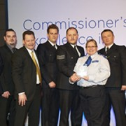 New Cross Safer Neighbourhoods Team At the Awards Ceremony. 