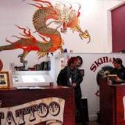 Skin & Ink Tattoo and Piercing Studio. Pic: Thea Foslie