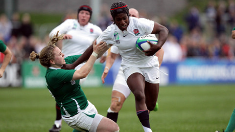Lewisham's Maggie Alphonsi makes World Cup draw