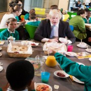Breakfast with Boris, Pic: Oliver F. Wright
