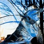London Ice Sculpture Festival. Pic: Dean Ayres