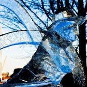 London Ice Sculpture Festival. Pic: Dean Ayres