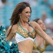 Jaguars Cheerleaders. Pic: NFL/Crystal Palace