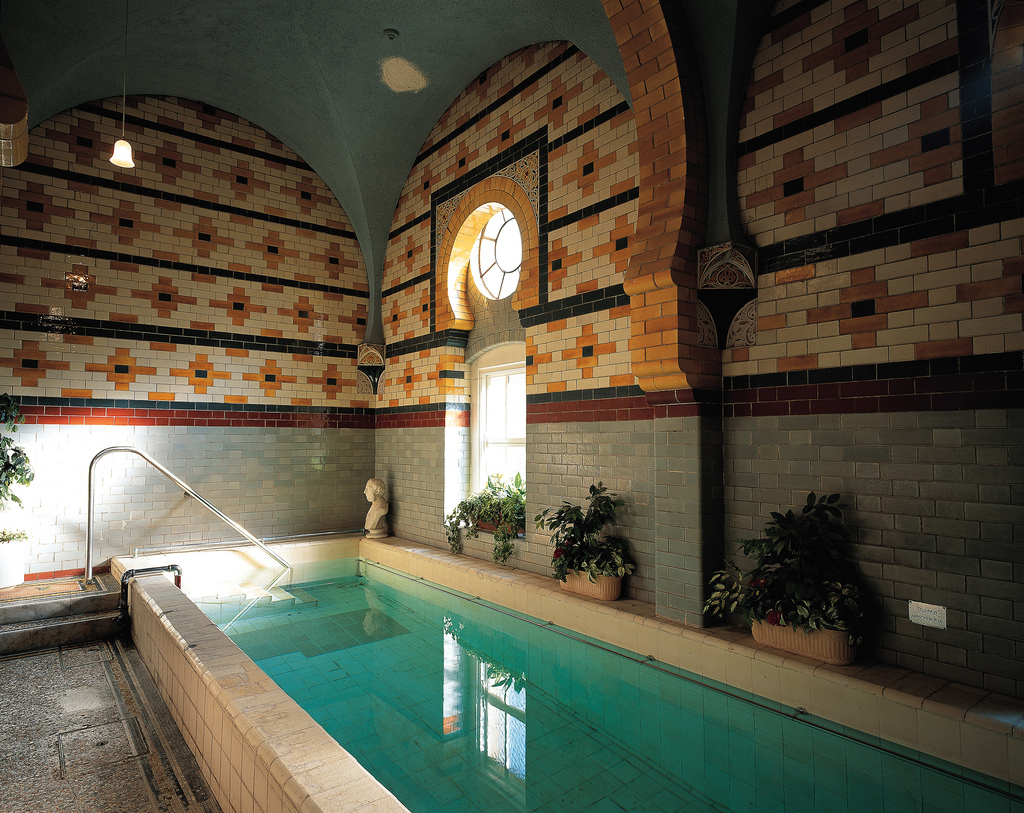 Subterranean pool north london