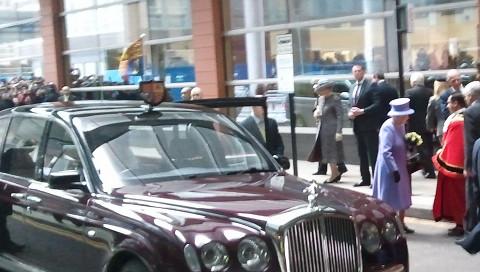 The Queen. Pic: Chris Dillon
