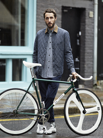 H&amp;M for Brick Lane Bikes. Pic: H&amp;M.