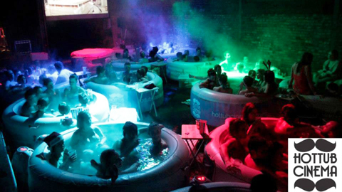 Pic: Hot Tub Cinema