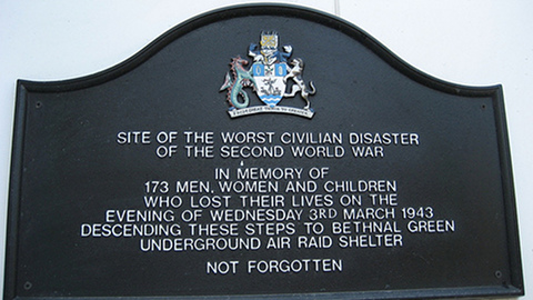Original memorial plaque. Pic: Bennett 4 Senate