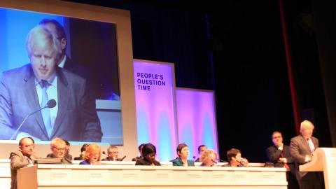 Boris Johnson. Pic: Gaelle Laforest