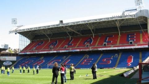 Crystal Palace FC Stadium. Pic: Chris Dodd