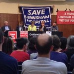 Save Lewisham A&E meeting Pic:Lucy Johnson