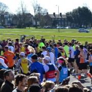 Marathon Runners at Blackheath Pic:Hannah Newton