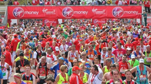 2012 London Marathon. Pic: Virgin London Marathon