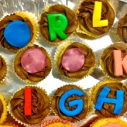Cakes baked for World Book Night Pics:Victoria Galvin