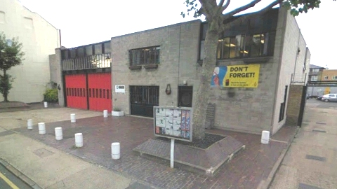 Bow Fire Station in Parnell Road, Tower Hamlets facing the axe in proposed cuts. Pic: Google