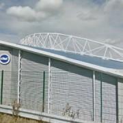 Brighton's Amex stadium. Pic: Google