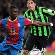 First leg semi-final play-off with Brighton ended nil nil at Selhurst Park. Pic: CPFC