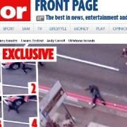 Daily Mirror obtains exclusive digital video of confrontation between suspects and armed police in Artillery Row, Woolwich